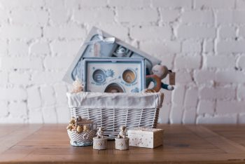 """Welcome To The World New Baby & Well Done Mummy"" Gift Hamper"