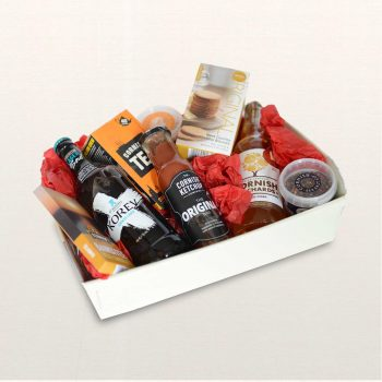 Constentine Food & Drink Hamper On Silk background