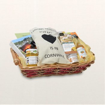 Lynher Food & Drink Hamper On Silk background