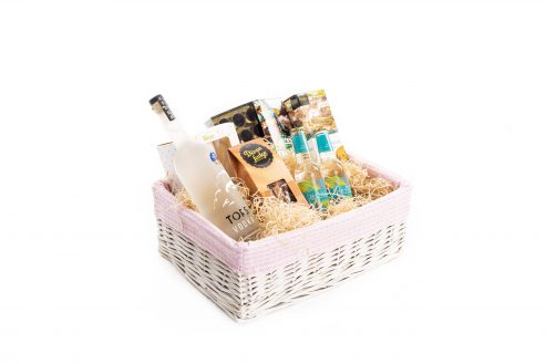 Happy Mother's Day Alcohol Hamper Side