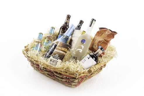 Tipsy Weekend Food & Drink Hamper Right Side