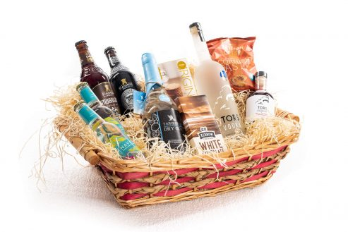 Tipsy Weekend Food & Drink Hamper Left Side